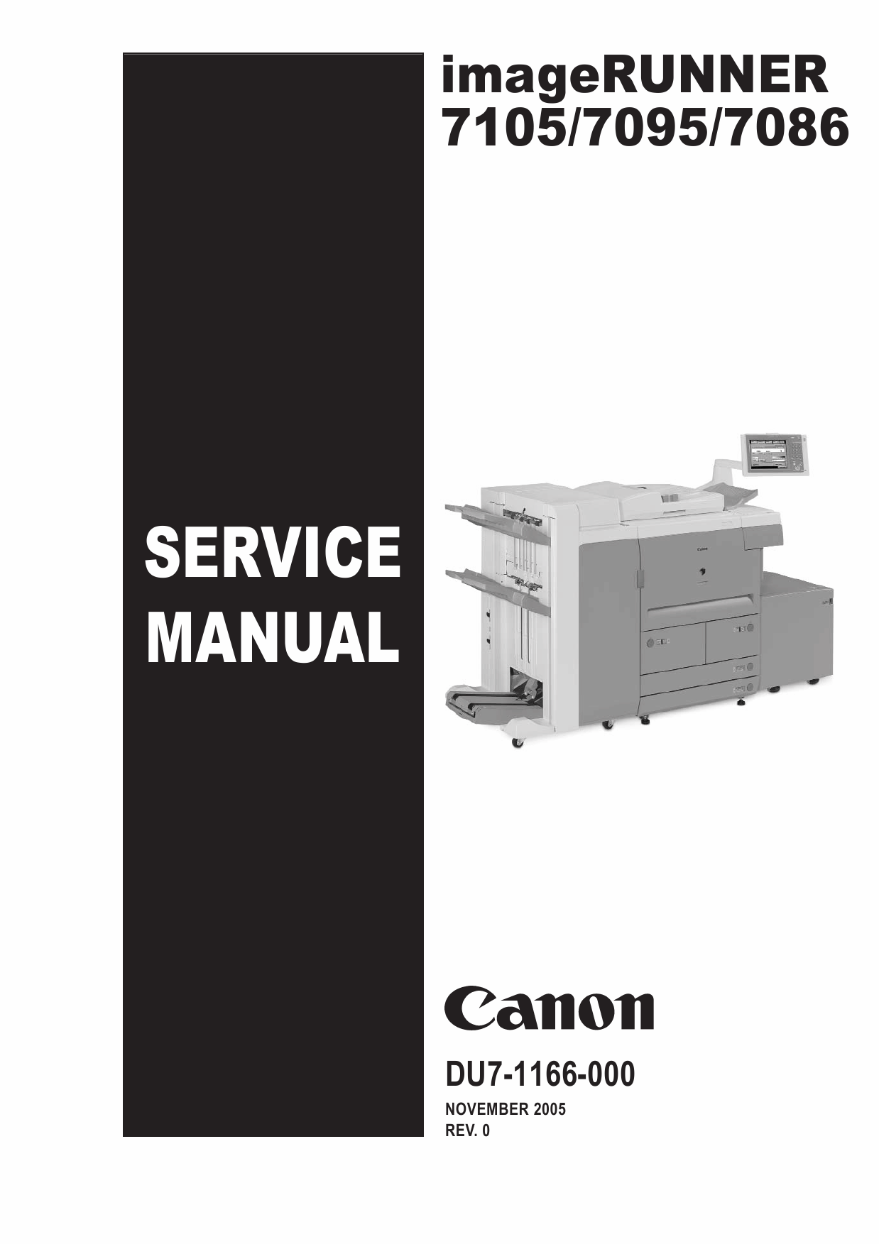 Canon imageRUNNER iR-7105 7095 7086 Parts and Service Manual-1